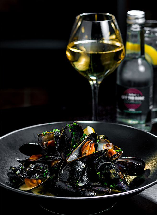 south court hotel off the bone mussels Limerick